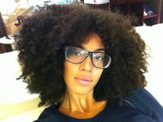 Addisa // 4B Natural Hair Style Icon   Black Girl with Long Hair
