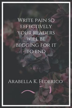 Looking to add a little more to your story? Here is an article on how to write pain effectively. Write so your readers feel every painful moment along with your characters. Creative Writing Tips, Book Writing Tips, Writing Resources, Writing Help, Writing Skills, Quotes About Writing, Writing Quotes Inspirational, Memoir Writing, Editing Writing