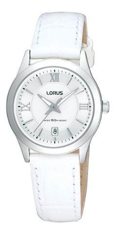 woman's white watch