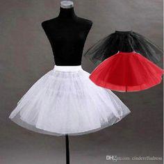 Pretty Tutu Petticoat Underskirt Kid's Accessories In Stock Red Black Girls Pageant Dress Crinoline No Hoop Undergarment Slip CPA274 Online with $14.56/Piece on Cinderelladress's Store | DHgate.com