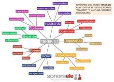 C1 - Sinónimos de TENER (I) para evitar que abusemos de su uso.