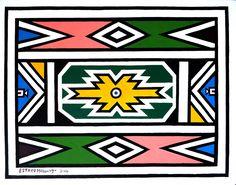 Zim Zimma: Esther Mahlangu's BMW parks at the British Museum Africa Tribes, Africa Art, British Museum, Design Museum, Art Museum, South African Design, Egypt Culture, African Artwork, Inca