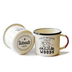 Walk in the Woods Enamel Mug