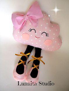 #Almofada Nuvem Bailarina