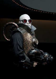 `.Mr Freeze by Tyrus Flynn on Flickr.