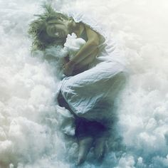 a bed made of clouds by Phillip Schumacher, via Flickr