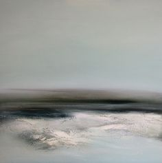 Mist. 76cm x 76cm, oil on canvas. Dion Salvador Lloyd