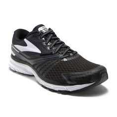 Running Shoes - Brooks or New balance or something that fits well.also I could use a set of laces. black or grey or white, for my current shoes
