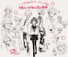Manga Anime, Anime Art, Hanako San, Character Art, Character Design, Manga Illustration, Anime Kawaii, Manga Drawing, Yandere