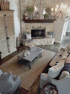 Add texture to your neutral space with a jute rug like this one from #tuesdaymorning.