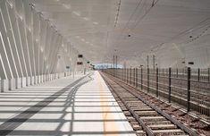 Santiago Calatrava, Stazione di Reggio Emilia AV Mediopadana ©Robertosabaphotography.com