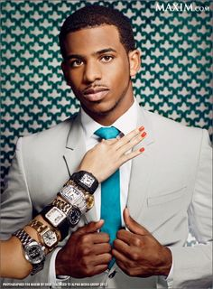 Chris Paul Really Likes Watches. Checkout,  INVICTA'S  Watches..♥♥♥
