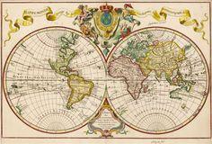 World map (1720)