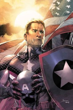 Captain America: Steve Rogers #7 variant cover by Jay Anacleto *