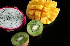 Ensalada de Pitaya, Kiwi, y Mango (Dragon Fruit, Kiwi, and Mango Salad) size comparison