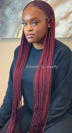 43 Cool Blonde Box Braids Hairstyles to Try - Hairstyles Trends French Braid Hairstyles, Braided Hairstyles For Black Women, African Braids Hairstyles, Ponytail Hairstyles, Weave Hairstyles, Cool Hairstyles, Black Hairstyles, Hair Updo, Hairstyles 2016