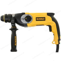 Dewalt D25124K-Gb 26Mm Sds Plus Hammer 3 Mode 240V With Quick Change offers an every day heavy-duty design ideal for drilling into concrete and masonry. Manufactured from high quality materials, this powerful drill delivers high performance and features variable speed control, a safety clutch system and a high torque motor.   L047874