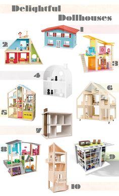 10 Delightful Dollhouses