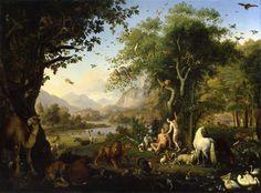 Wenzel Peter, Adán y Eva en el Paraíso Terrenal