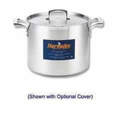 Browne-Halco Thermalloy Stock Pot, 24 Qt Stainless Steel, Induction Ready by Browne-Halco. $115.35. The Browne-Halco 5723924 Thermalloy Stock Pot is a versatile tool for bulk or large volume cooking. Constructed of heavy-duty stainless steel with a 24 quart capacity the Browne-Halco 5723924 Thermalloy Stock Pot has a 6 millimeter aluminum sandwich bottom and has induction capabilities. The Browne-Halco 5723924 Thermalloy Stock Pot has durably riveted hollow cast hand...