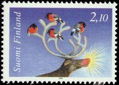 Joulupostimerkki 1994 1/2 - Petteri Punakuno