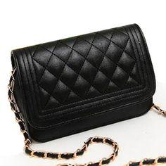 Hot sell evening bag black bag women leather handbag Chain Shoulder Bag women messenger bag fashion day clutches SD50-221 #Affiliate