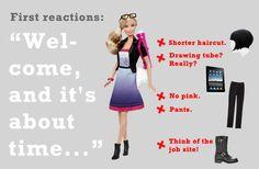 barbie architektka je špiónka!