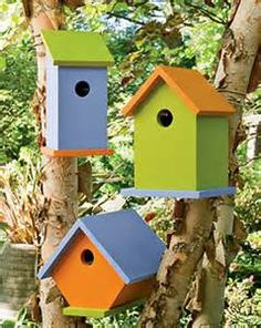 colorful bird house gardens - Bing Images
