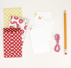 Easy Like Sunday Morning: Seed Packet Envelopes; nice for little cards on a present or gift cards