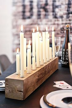 Rustic Candle Holder, Candlesticks , Wood Candle Holder , Center Piece – Sheena dream home – Kerzen Rustic Candle Holders, Rustic Candles, Diy Candlestick Holders, Diy Candlesticks, Candleholders, Long Candle Holder, Diy Candle Holders Wedding, Candlestick Centerpiece, Driftwood Candle Holders