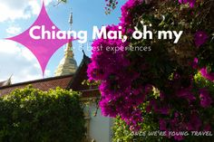 Don't just see it, experience it. Check out the 8 best experiences in Chiang Mai, Thailand.