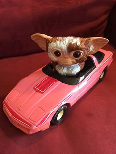 Vintage Gizmobile Pink Corvette from ERTL 1984 ( GREMLINS MOVIE ) Gizmo RARE | Toys & Hobbies, TV, Movie & Character Toys, Other TV/Movie Character Toys | eBay!