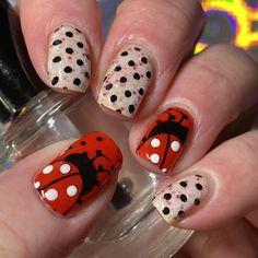 Ladybug Nails, Print Tattoos, My Nails