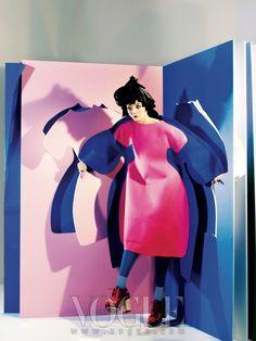 Lee Som in Commes Des Garcons by Kim Bo Sung for Vogue Korea Aug 2012 Fashion Shoot, Editorial Fashion, Fashion Art, Fashion Design, Creative Photography, Editorial Photography, Fashion Photography, Ellen Von Unwerth, Tim Walker