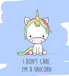 2017/07/01 Unicorn - My life motto