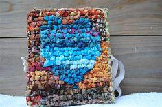 Locker hooked Blue Heart journal