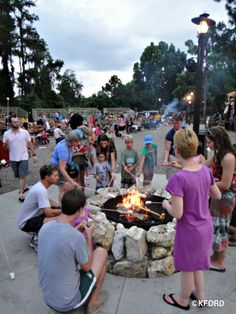 """Extra """"perks"""" of staying at a Disney World Resort - S'mores!!!  (With additional focus on all the activities available at the Fort Wilderness Campbround as well)."""