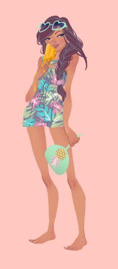 Character Design Girl, Character Design References, Character Design Inspiration, Illustration Sketches, Illustrations, Character Illustration, Sketch Art, Character Poses, Character Art