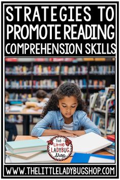 Strategies that Promote Reading Comprehension Skills for elementary students including freebie ideas and more. Perfect for 3rd grade, 4th grade, home school classrooms. #readingcomprehension #readingpassages