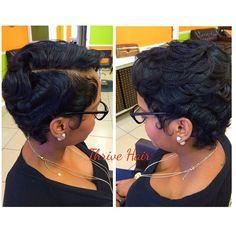 Thrive Hair Salon #cutlife #waves #curls #thrivehairsalon #Padgram