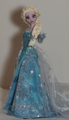 Elsa, the Snow Queen OOAK doll, Disney Frozen