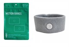 And lastly, a pair of soft motion bands. They are basically little sweatbands that apply pressure to a point on your wrist, which supposedly helps with motion sickness. Whether that's a legit thing or a placebo effect thing, who knows, but they work for me!