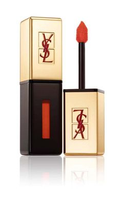 YSL new launch: Rouge Pur Couture Glossy Stain. LOVE this colour!