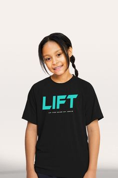 Lift - Girl's Youth Active T-Shirt