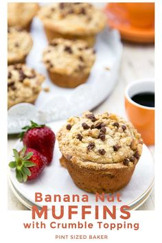 Enjoy Banana Muffins all week long. These banana nut muffins taste amazing on the day they are baked and then freeze very well. Once frozen, simply thaw in the microwave for 30 seconds and - boom! fresh muffins! #muffinrecipe #easyrecipe #banananut #easybreakfast Banana Recipes, Muffin Recipes, Banana Nut Muffins, Delicious Breakfast Recipes, Crumble Topping, Retro Recipes, Delicious Chocolate, 30 Seconds, Quick Easy Meals
