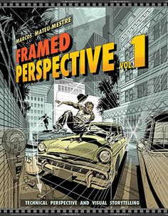 Perspective is a discipline often set aside when it comes to general art study, though it is essential to master in order to produce any piece of art that is and feels realistic. As intimidating as perspective may seem to aspiring artists, celebrated artist and author Marcos Mateu-Mestre takes the mystery out of understanding and applying it correctly with his highly anticipated two-volume collection, Framed Perspective.   In FramedPerspective, Vol. 1: Technical Drawing for Visual…