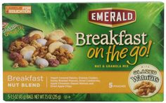 Emerald Breakfast on the Go! Breakfast Nut, Blend and Granola Mix, 7.5 Ounce (Pack of 8) ** Read more  at the image link.