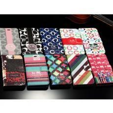 ブランド COACH iphone6s se iphone6s plus galaxy s6/s6 edgeケース手帳型 新作の COACH アイフォン6ケース iphone5/5S保護ケース 激安