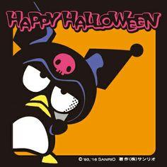 Happy Halloween : Badtz Maru Source: sanrio.co.jp Hello Kitty Halloween Costume, Spooky Halloween, Happy Halloween, Halloween Party, Halloween Costumes, Time To Celebrate, Sanrio, Cute Art, Fall Decor