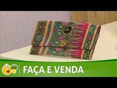 Vida com Arte   Carteira de mão por Adriana Dourado - 19 de Novembro de 2016 - YouTube